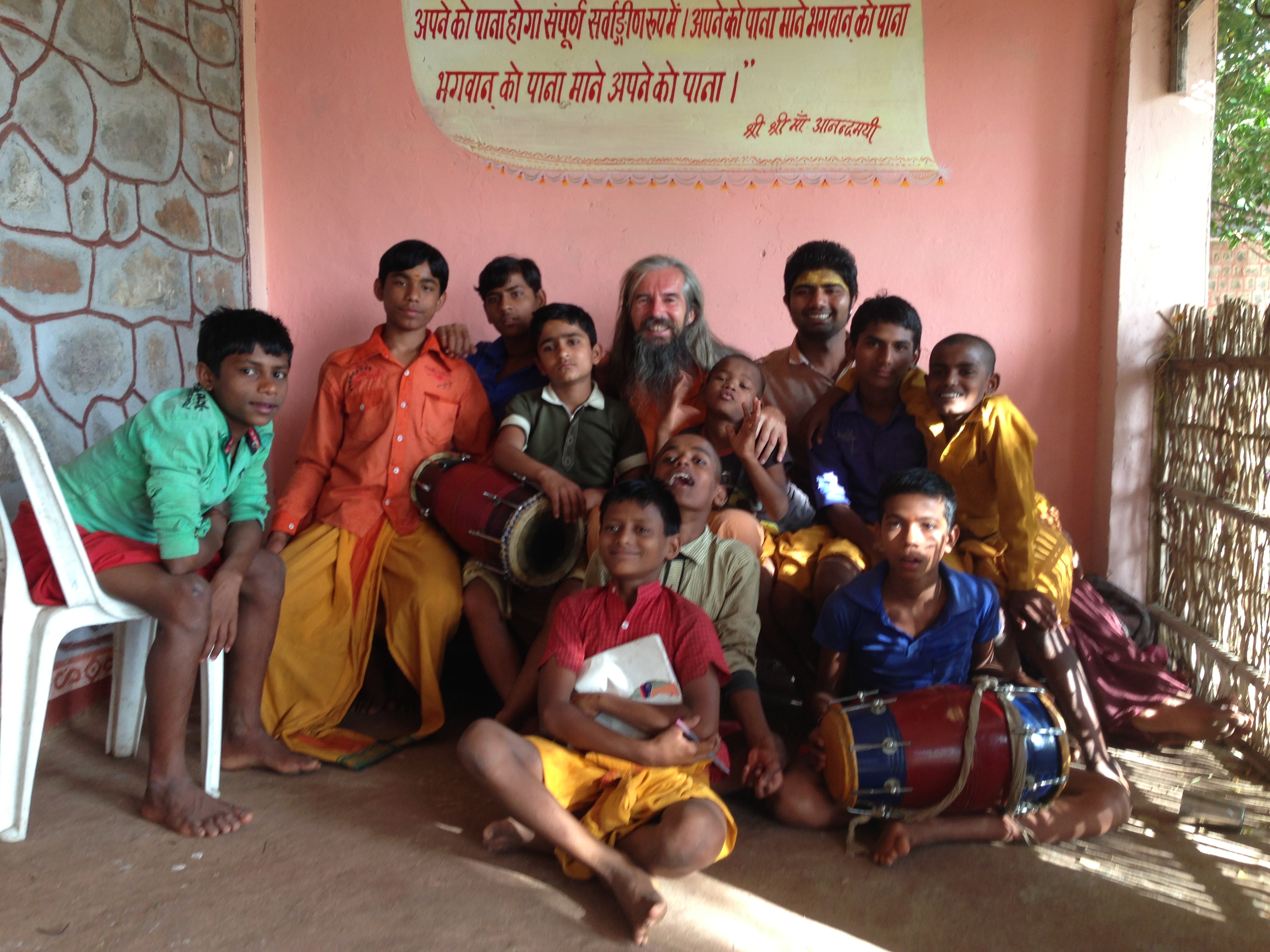 Hasmuk and the Ashram Kids